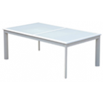 Boca Glass Extension Table