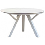 Dina Round Glass Table