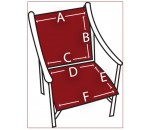 Two Piece Sling Chair